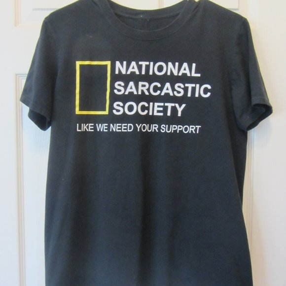 Other - Mens M T-shirt Graphic National Sarcastic Society